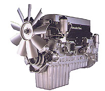 Mercedes benz mbe4000 commercial truck engine for Mercedes benz diesel truck engines