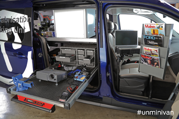 Infrastructures Octobre 2014 Ford Transit Connect