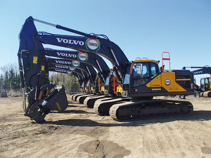 Infrastructures October 2017 Strongco Announces Multi Unit Volvo