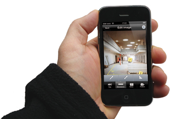 infrastructures november 2012 bosch toolbox app offers a measurement camera canada 39 s. Black Bedroom Furniture Sets. Home Design Ideas